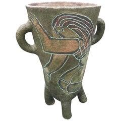 Accolay, Large Ceramic Vase, circa 1960
