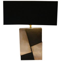 Isa Fedigrolli Signed, Table Lamp, Bronze, 1970s