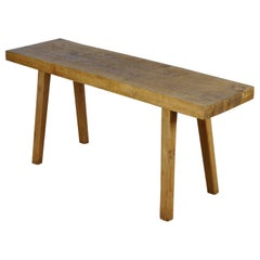Vintage Oak Butcher's Table or Farmtable, 1930s