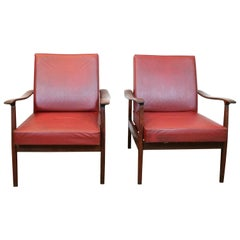 Pair of Italian Armchairs Produced by Anonima Castelli, 1960s