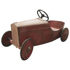 20th Century Toy Car with Pedals