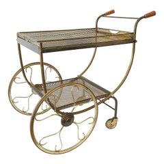 Gorgeous Midcentury Bar Cart or Tea Trolly by Svenskt Tenn, Sweden, 1950s