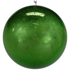 19th Century Mercury Glass Witches Ball