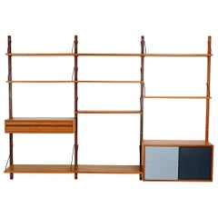Royal System, Teak Wall Unit by Poul Cadovius for Cado, 1960s