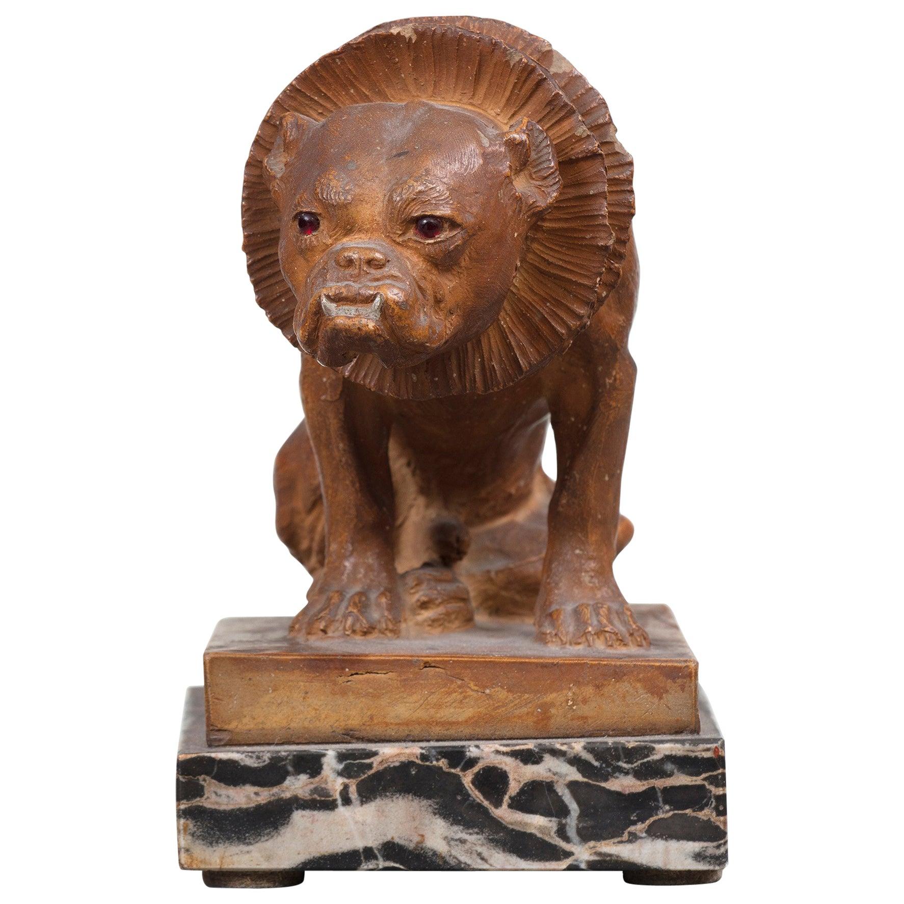 Terracotta Figure of a Dog