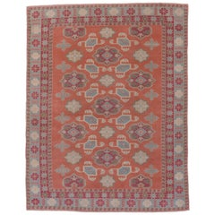 Colorful Caucasian Style Carpet
