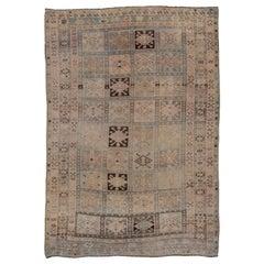 Antique Oushak Rug, Unique Field
