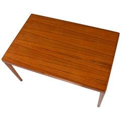 Vejle Stole Danish Modern Teak Draw Leaf Expanding Dining Table