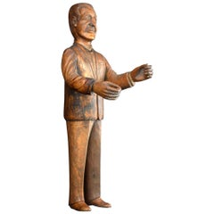 Folk-art Gentleman Figure, circa 1930