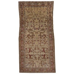 Antique Karabagh Rug with Animal Motifs
