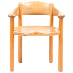 Set of Ten of Dining Chairs in Pine