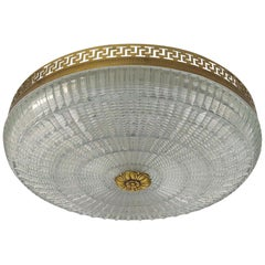 Neoclassical French Flush Mount