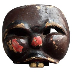 Carved Theatre Mask