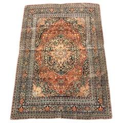 Antique Fine Tabriz Style Rug