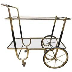 Elegant French 1930s Bar Cart