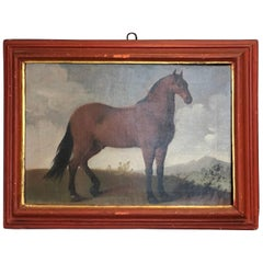 Bay Horse in a Landscape