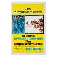 """""""The Magnificent Seven"""", US Film Poster, 1960"""