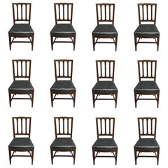 16 Dining Chairs in a Neoclassical Style, Sweden, circa 1940