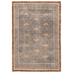 17th Century Antique Chinese Ninghsia Rug