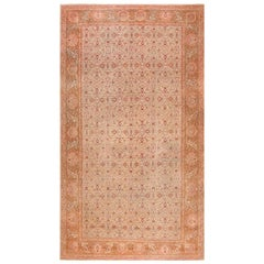 Antique Oversized Indian Amritsar Rug
