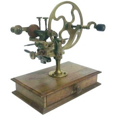 19th Century Watchmakers Gear Wheel Rounding Up Tool