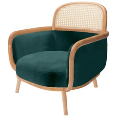 Luc Armchair with Rattan