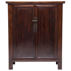 Chinese Elm Two-Door Cabinet