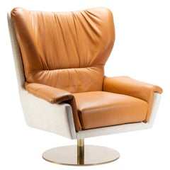Closer Swivel Armchair
