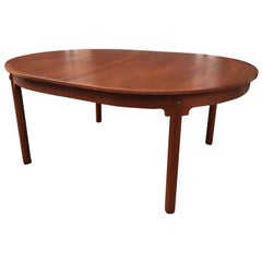 Ole Wanscher Teak Oval Table