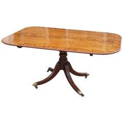 Late George III Mahogany Breakfast Table