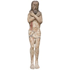 Baroque Figure of Crucified Christ