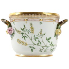 Royal Copenhagen Flora Danica Oval Wine Cooler #3569