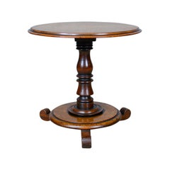 Low, Antique Wine Table, English, Victorian, Mahogany, circa 1850
