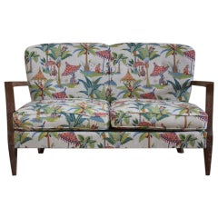 1940s French Two-Seat Sofa