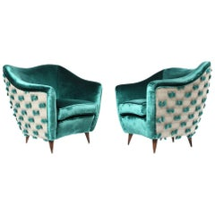 Pair of Gio Ponti Chairs for Casa e Giardino