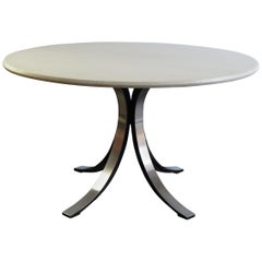 "Oesvaldo Borsani and Eugenio Gerli Italian Marble Dining Table ""T69"" for Tecno"