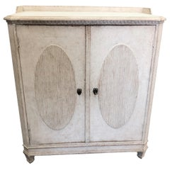 Antique Gustavian Style Buffet, Mid-19th Century