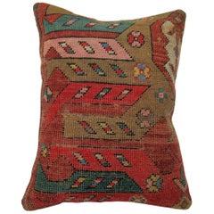 Colorful Karabagh Rug Pillow