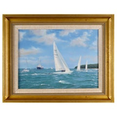 """""""Yachts Racing"""" by Shane Michael Couch"""
