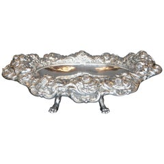 Oversized Sterling Silver Centre Serving Dish
