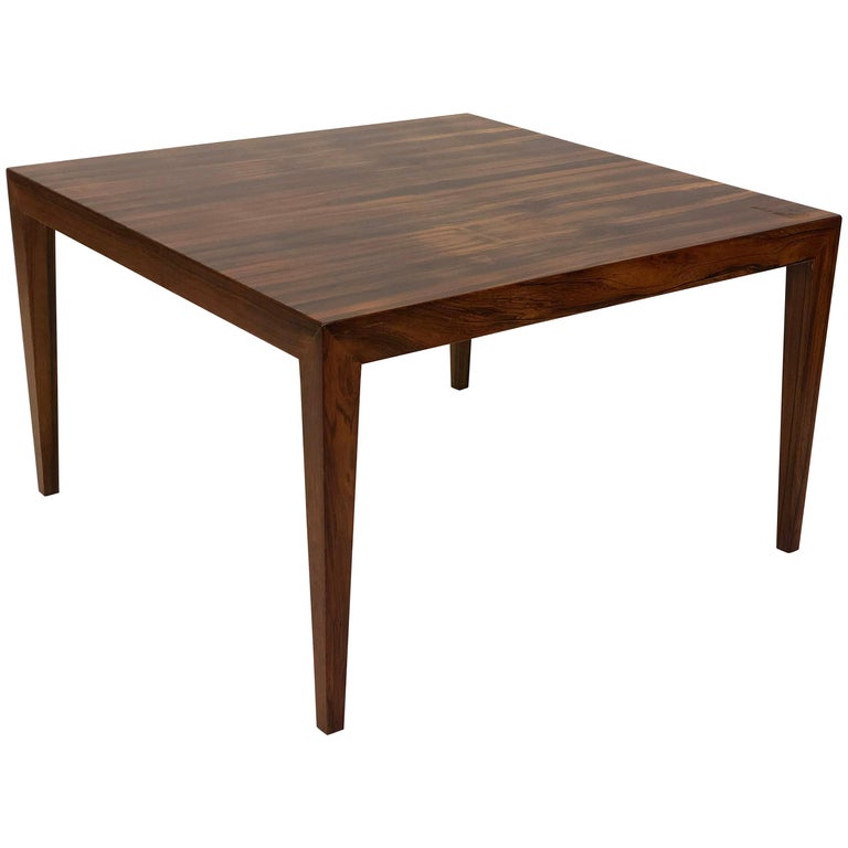 1960 S Severin Hansen Coffee Table In Rosewood For Sale At 1stdibs