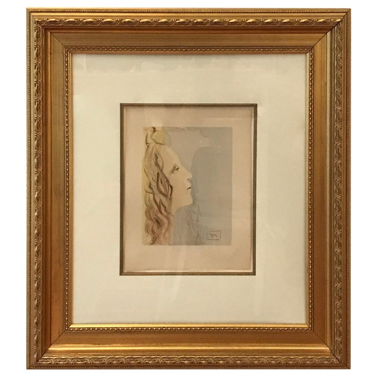 Grandest Beauty of Beatrice by Salvador Dali For Sale