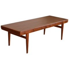 Danish Mid-Century Modern Coffee Table by J. Linde for CFC