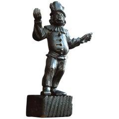 Polichinelle Wooden Figure