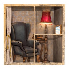 "Original Work of Art by Sharon Berebichez Titled ""Window"""
