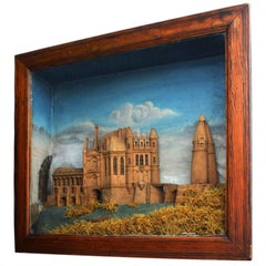 Cork Diorama of Avigon, circa 1880