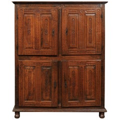 Renaissance Italian Carved Walnut Cabinet, Late 16th Century