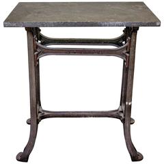 1920s French Industrial Work Table