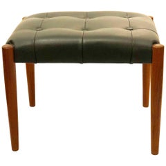 Danish Modern Stool by Erik Jorgensen