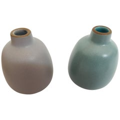 Edith Heath Classic Bud Set of Two Vases, Designed in the 1940s